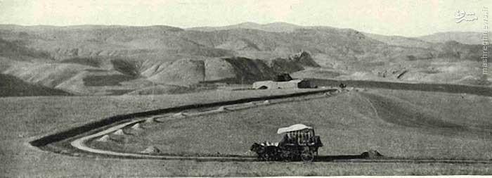عکس/ جاده قزوین_رشت در سال ۱۳۰۰