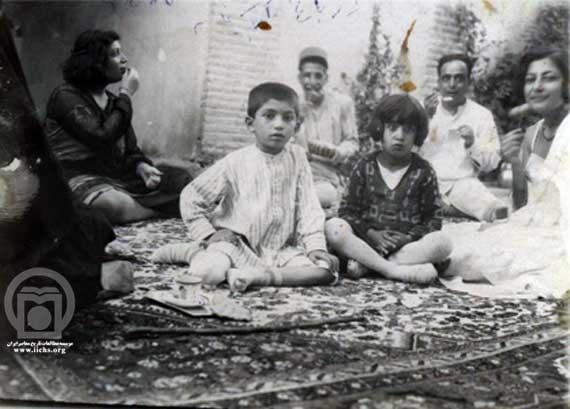 تصویری دیده نشده از توران امیرسلیمانی و غلامرضا پهلوی