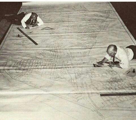 نقشه کشی در زمان قدیم