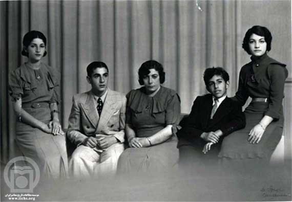 تاجالملوک پهلوی و فرزندانش