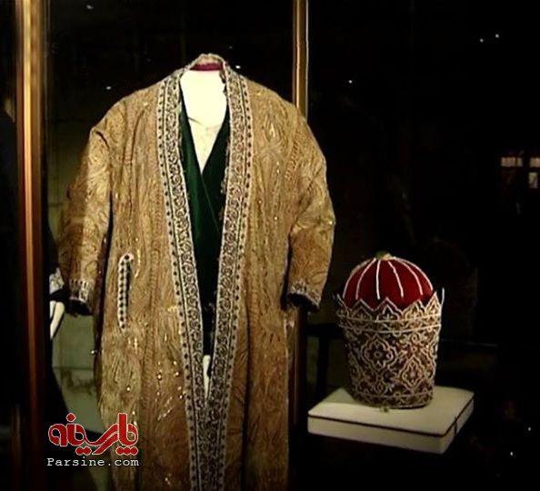 عکس/کلاه عباس میرزا در موزه خزانه ملی ایران