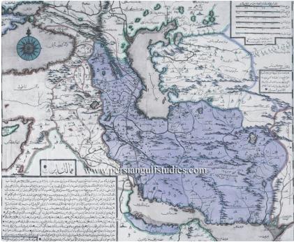 نقشه ایران در 286سال قبل/عکس