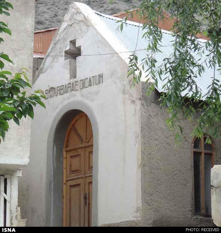 کوچکترین کلیسای جهان در ایران+عکس