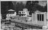 تصویری از خیابان دربند در شمال شهر تهران در دوران پهلوی دوم