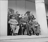 تصاویری از کنفرانس استعماری متفقین در تهران