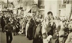 شعار«مرگ بر شاه»روی باند رژه گارد شاهنشاهی