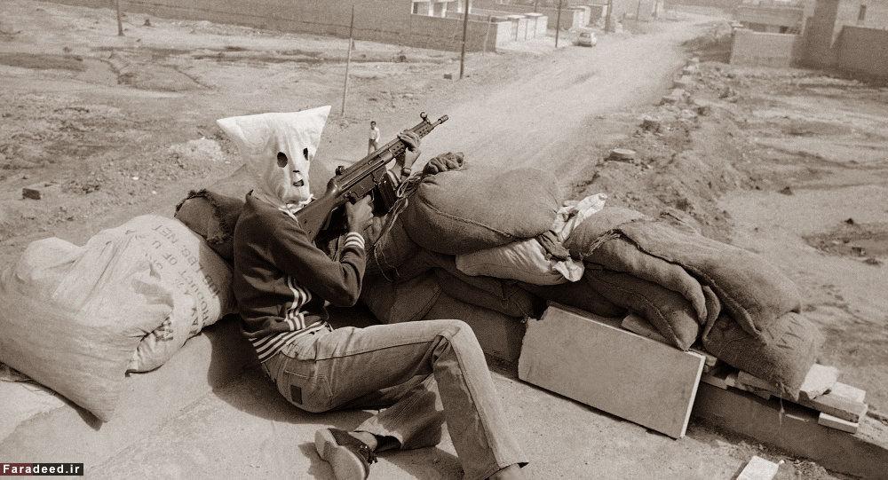 انقلابی مسلح در خرمشهر/عکس