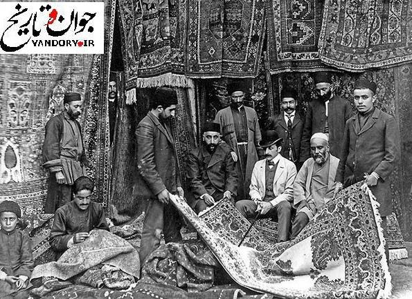 تجارت فرش آذری در تفلیس/عکس