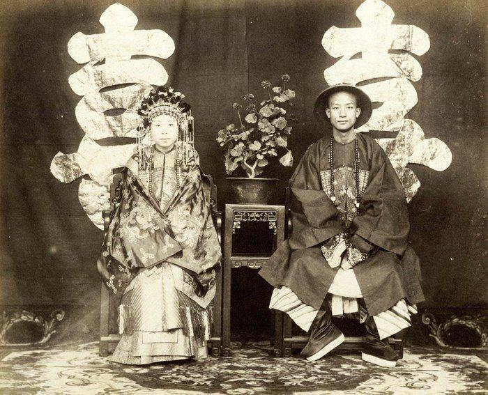 عروس چینی /عکس