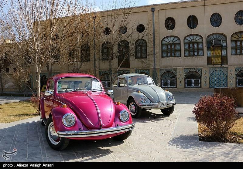 تصاویر/خودروهای قدیمی در اصفهان