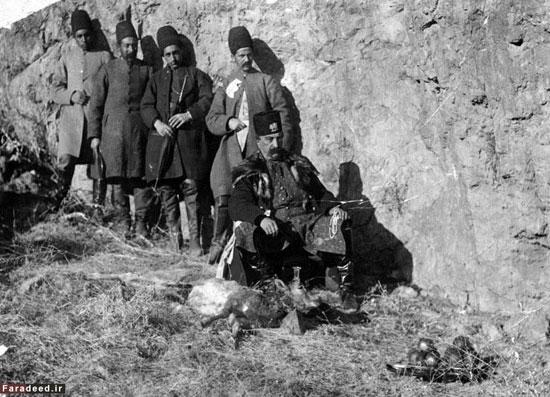 ناصرالدین شاهِ شکارچی + تصاویر