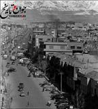یکی از خیابانهای تهران در اوایل دهه 30