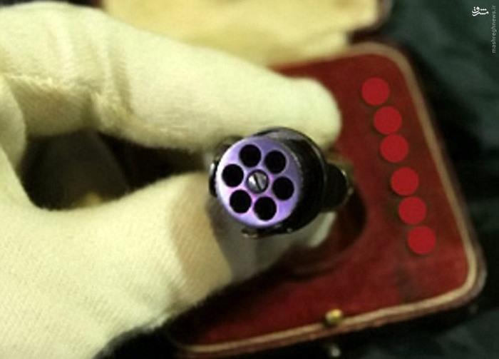 عکس/کوچکترین اسلحه جاسوسی دنیا