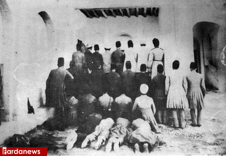 عکس/عجیب ترین عکس از زمان قاجار
