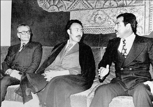 انعقاد پیمان الجزایر بین عراق و ایران