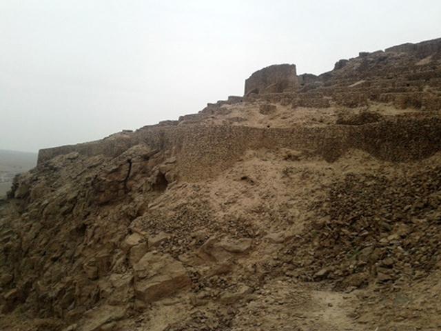 وجود ۳ دوره تاریخی در قلعه شاهدژ