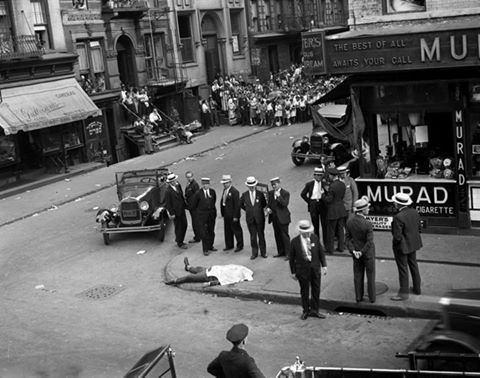 قتل در خیابانی درآمریکا /عکس