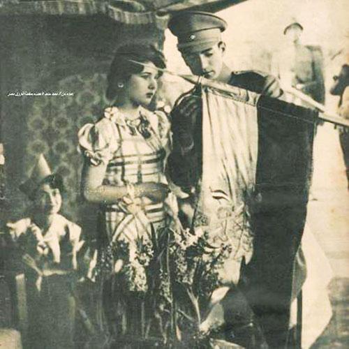 تصویری دیده نشده از فوزیه و محمدرضا پهلوی