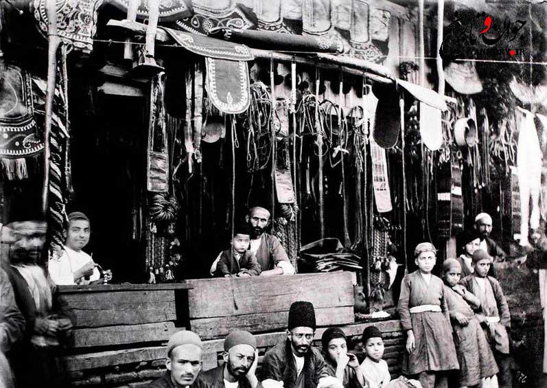 ضیافت سه زن خوشگذران قاجار به روایت  عکاس آلمانی