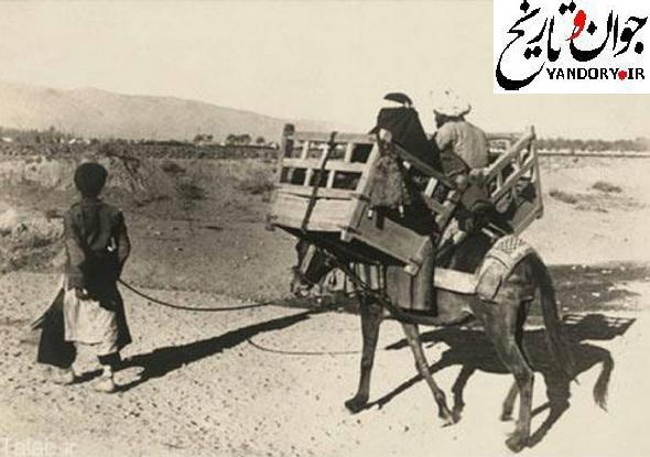 حمل و نقل قاجاری/عکس