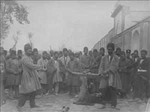 تصاویری از مجازاتهای قجری