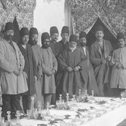 تشریفات غذا خوردن در ایران عهد قاجار