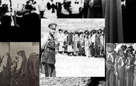 جشن زرتشتیان کرمان به مناسبت کشف حجاب