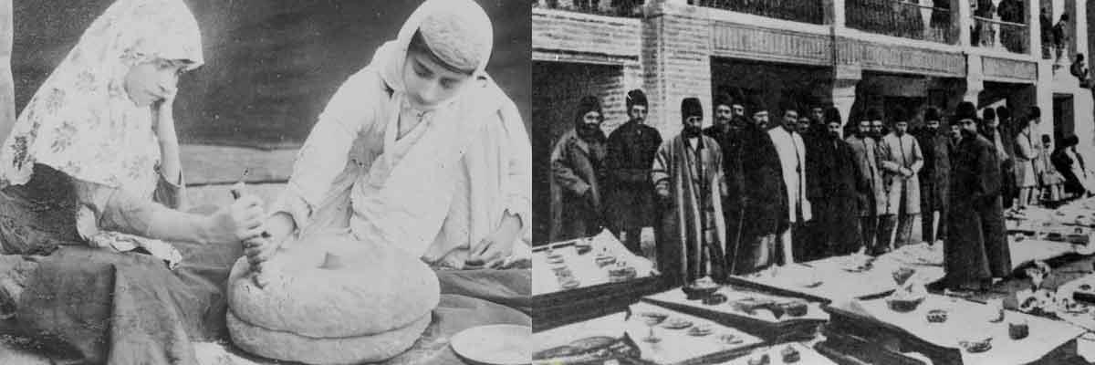 گستره آشپزخانه دربار در عصر ناصری