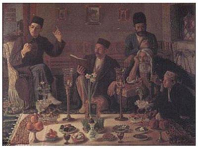 آداب عید نوروز در تهران قدیم