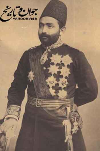 امین السلطان رئیس الوزرای قجری
