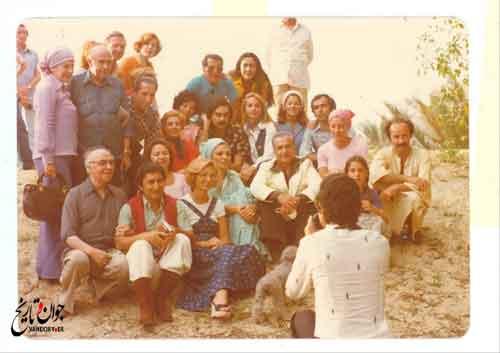 خوشگذرانی فرح و محمد رضا پهلوی در جنوب کشور/ عکس