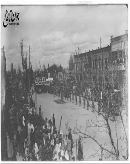 نمایش قدرت دمکراتها در تبریز/عکس