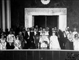 سخنرانی پهلوی دوم در مجلس فرمایشی/عکس