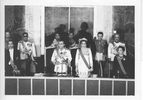 مجلس سنا پهلوی در آیینه تصاویر
