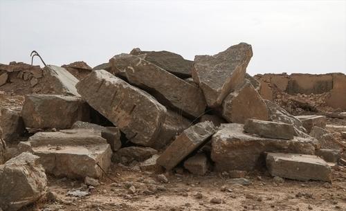 تخریب شهر نمرود توسط داعش برای محو آثار تمدن ایران بزرگ+تصاویر