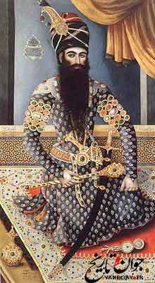 خانواده بزرگ فتحعلی شاه قاجار!