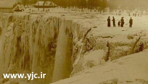 آبشار یخ زده نیاگارا
