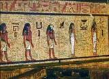 وقتی درب مقبره آمون باز می شود+عکس