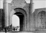 تصویری دیده نشده از دروازه شمیران بیش از یک قرن پیش