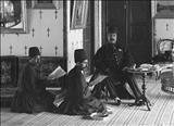 سفره های افطاری در دربار ناصرالدین شاه+ عکس
