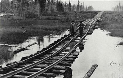 تلاش پادشاهان قاجار جهت تأسیس راه آهن