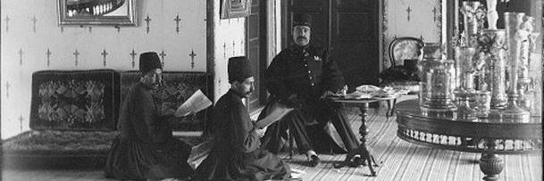 تصویری از کودکی ناصرالدین شاه قاجار