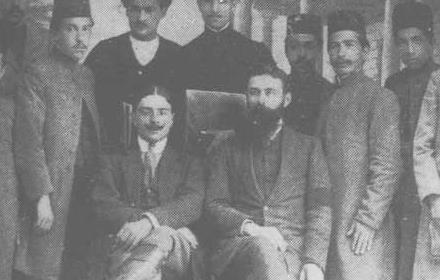 عکس تاریخی/  شیلان و لاتس دو تن از مستشاران خارجی فعال در ایران در دوره قاجاریه