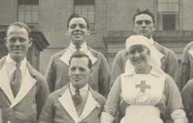 تصویری دیده نشده از پرستاران ارپوپایی صلیب سرخ در سوئیس (جنگ جهانی اول)
