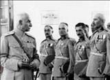 جمعی از سربازان وظیفه در اوایل دوره پهلوی