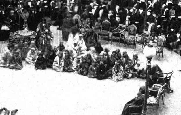 مراسم عزاداری روز عاشورا در میدان توپخانه
