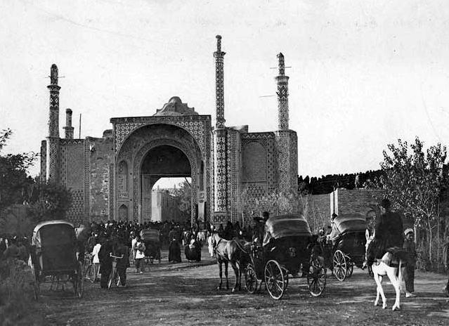تهران در ابتدای دوره قاجار