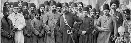 قبا و کمربند در ایران قجری