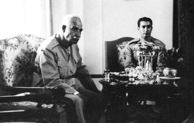 تملک اراضی رضاخان توسط محمدرضا پهلوی