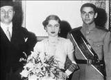 عکسی دیده نشده از ملکه فوزیه در اسرائیل